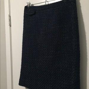 J.Crew wool knit pencil skirt size 4